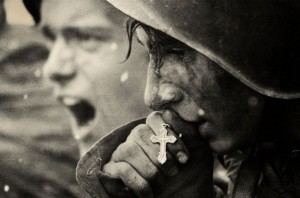 Russian soldiers preparing for the Battle of Kursk July 1943